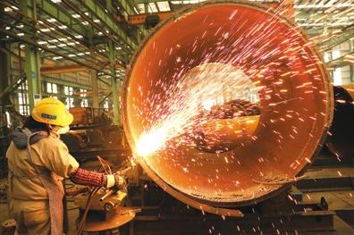 中国加工制造业市场逐渐复苏 带领中国经济持续向好