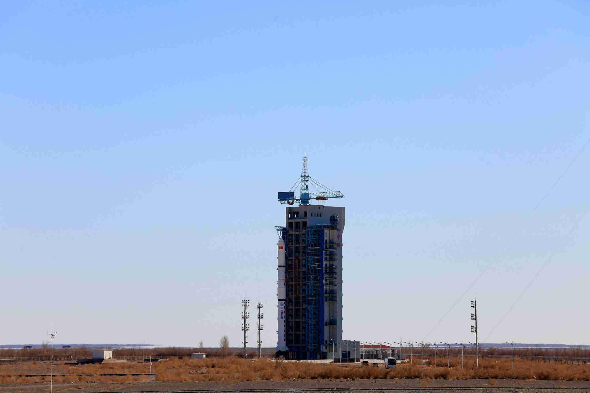 甘肃酒泉成功发射遥感三十一号02组卫星