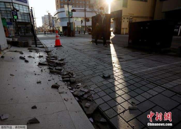 日本福岛强震已致15OPE电竞app5人受伤 核电站有部门水溢出