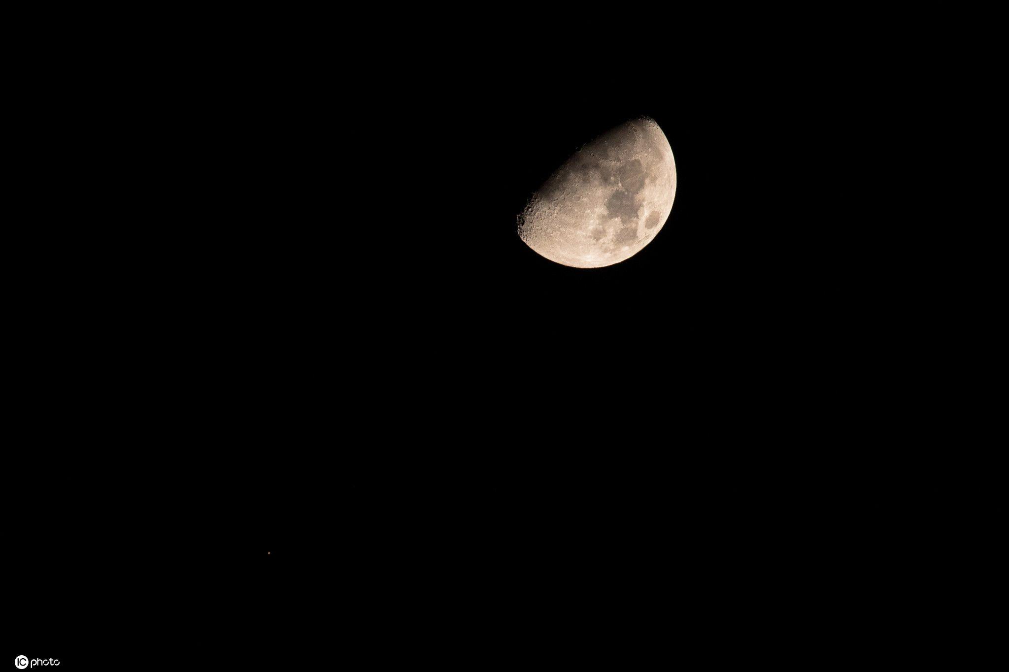 期待!2021火星合月!