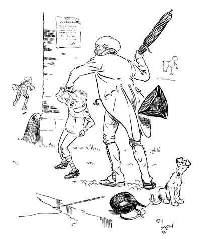 面对熊孩子 各国先生如何善用手中戒尺?