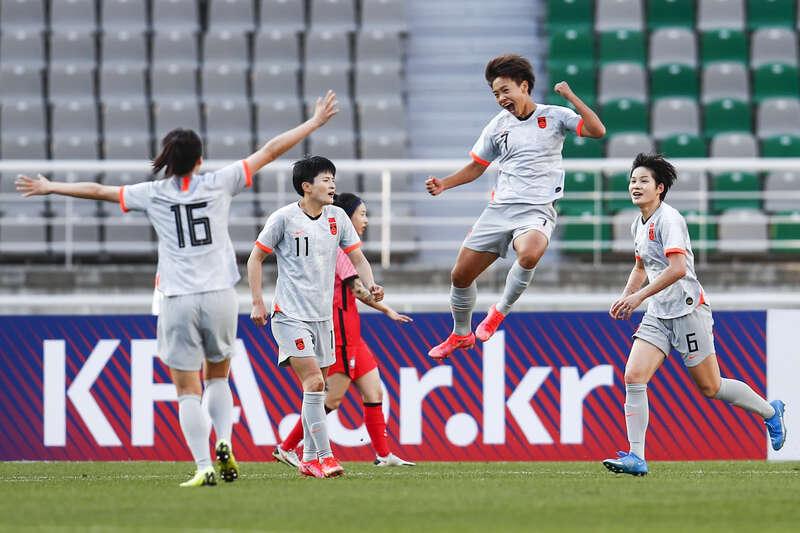 中国女足客场恶战险胜韩国!掌握晋级东京奥运会主动权