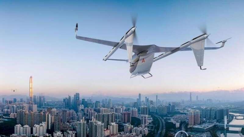 电动飞行汽车要来了?就在上海,还是无人驾驶的