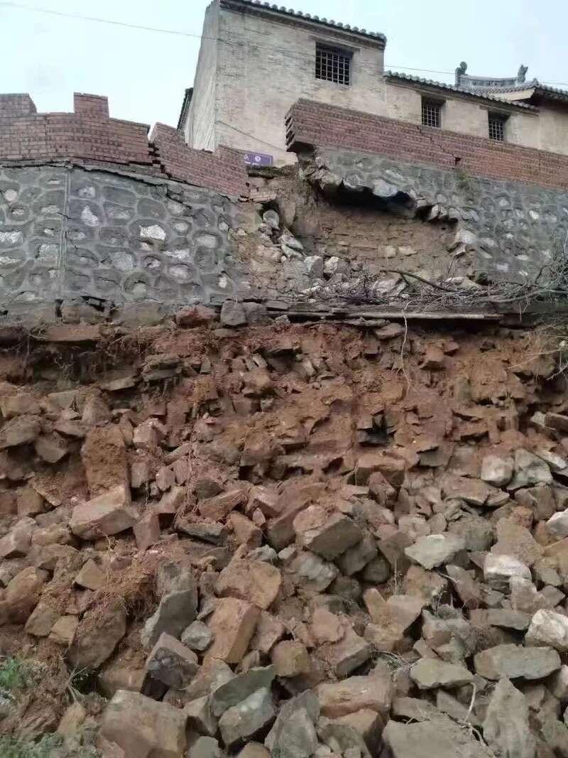 """山西因灾受损文物正在抢险,""""非文保单位""""受损严重"""